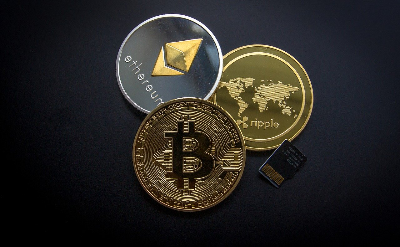 Bitcoin Ethereum Ripple