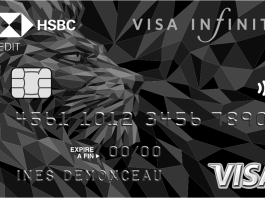 Visa Infinite HSBC