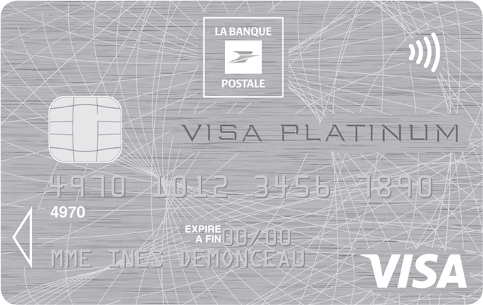 Visa Platinum de la Banque Postale
