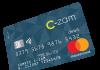 Carte de crédit C-zam