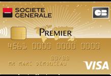 Carte de crédit Visa Premier de la Société Générale