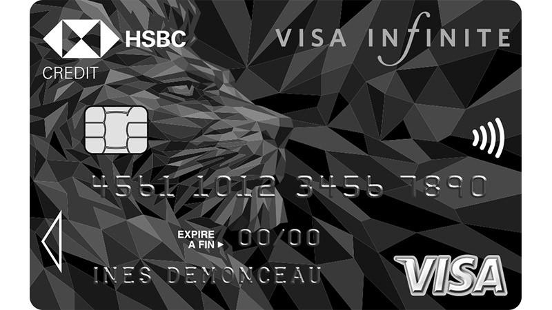 La Visa Infinite de HSBC - Caractéristiques et Comment Souscrire