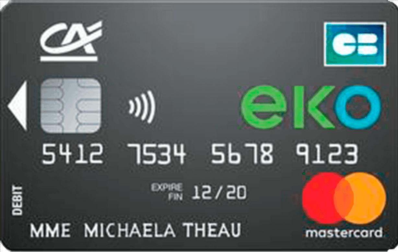 Compte Fixe Mensuel - Apprenez Comment Demander la Carte Mastercard Eko du Crédit Agricole