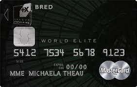 La Carte de Crédit de la Banque BRED - Comment Souscrire à Celle-ci